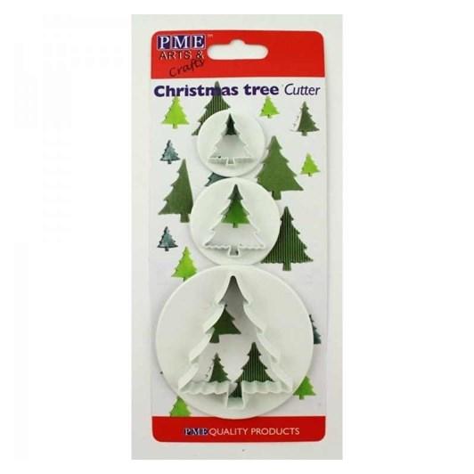 Wilton PME Christmas Tree Cutter Set 3