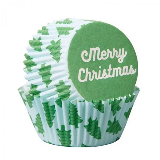 Wilton Standard Baking Cups Merry Christmas 75Ct