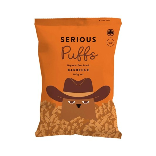 Serious Puffs Barbeque - 100g