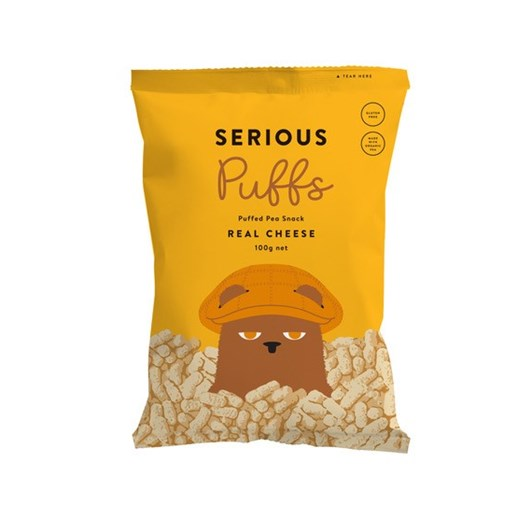 Serious Real Cheese Puffs - 100g