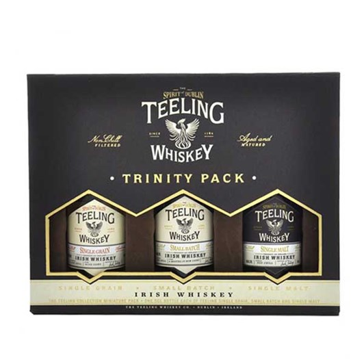Teeling Irish Whiskey Trinity Pack 3 x 50ml