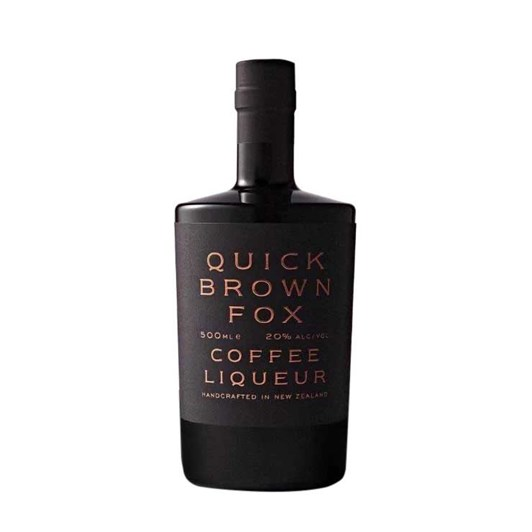 Quick Brown Fox Coffee Liqueur Gift Box 500ml