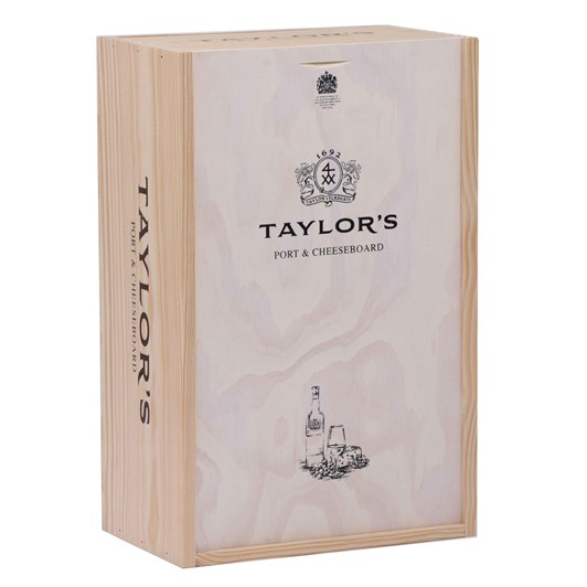 Taylors 10 Year Old Port With Cheese Board Gift Pack 700ml