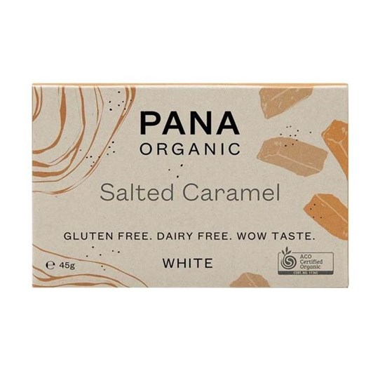 Pana White Chocolate Bar Salted Caramel 45g