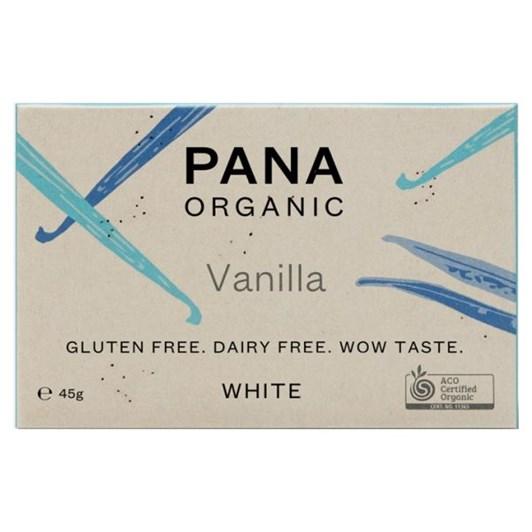 Pana White Chocolate Bar Vanilla 45g