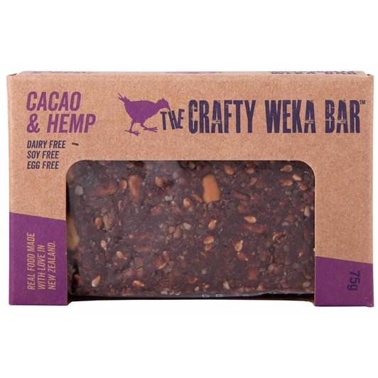 Cacao & Hemp Crafty Weka Bar 75g