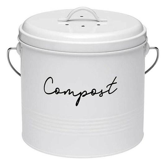 Ladelle Eco White Compost Bin