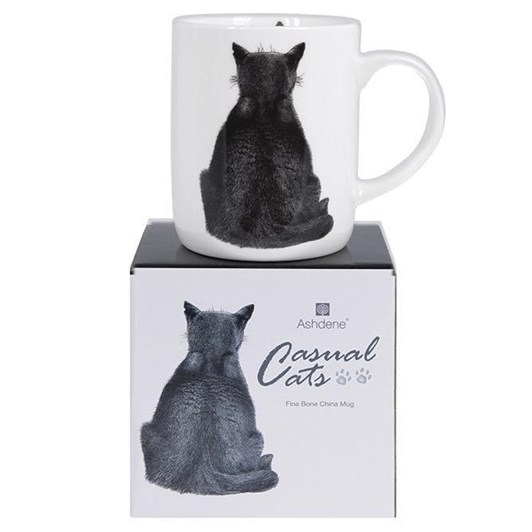 Ashdene Casual Cats Watching Large Can Mug