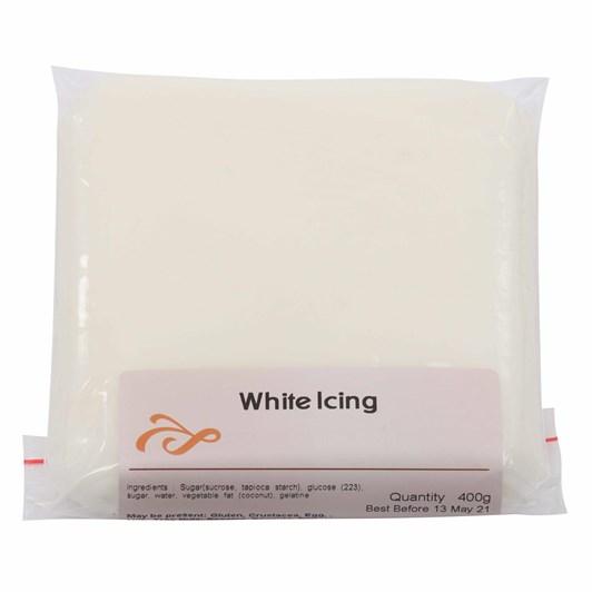 Rangiora Bakery White Icing 400g
