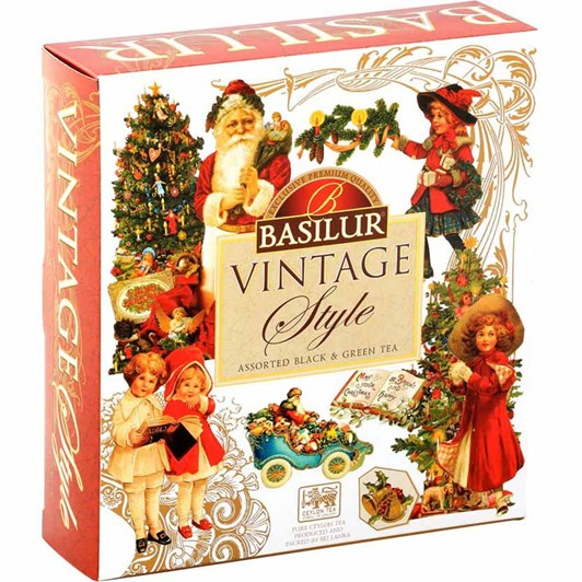 Basilur Vintage Tea Selection Gift Box 40 sachets