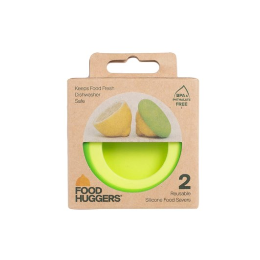 Food Huggers  Set Of 2- Citrus