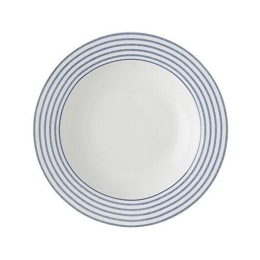 Laura Ashley Plate Deep 22 Cm Candy Stripe