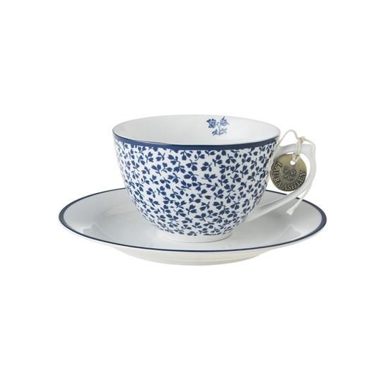 Laura Ashley Cappuccino Cup & Saucer Floris