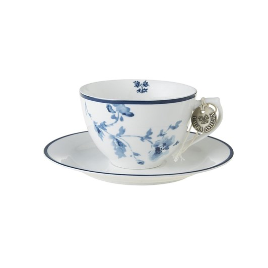 Laura Ashley Cappuccino Cup & Saucer China Rose