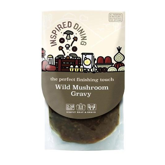 Inspired Dining Wild Mushroom Gravy 200g