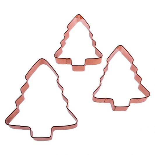 Dline Xmas Tree Cookie Cutters - Set 3