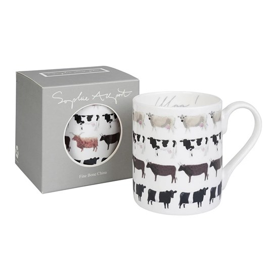 Sophie Allport Standard Mug - Cows Moo