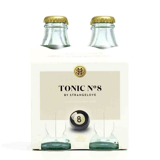 StrangeLove Tonic No.8 Pack Of 4 180ml