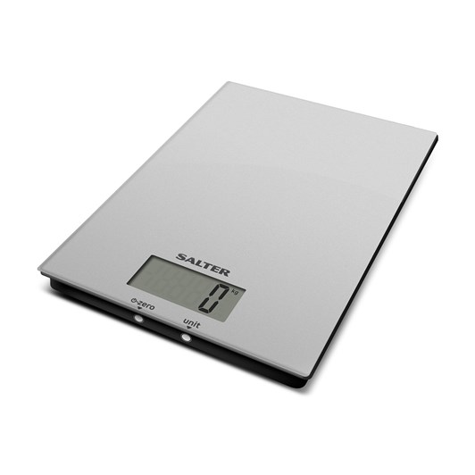 Salter Ultra Slim Glass Electronic Kitchen Scales