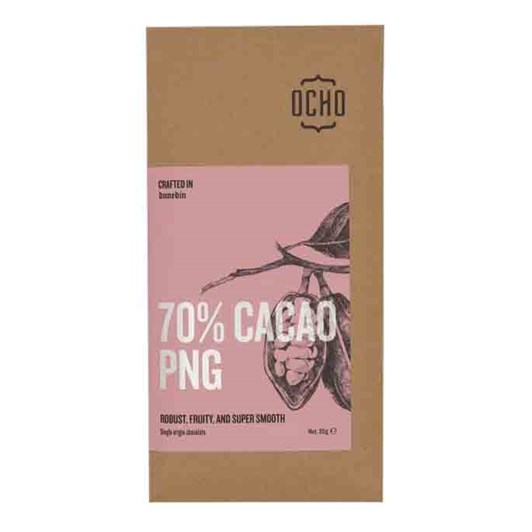 Ocho PNG 70% Chocolate Bar - 95gm