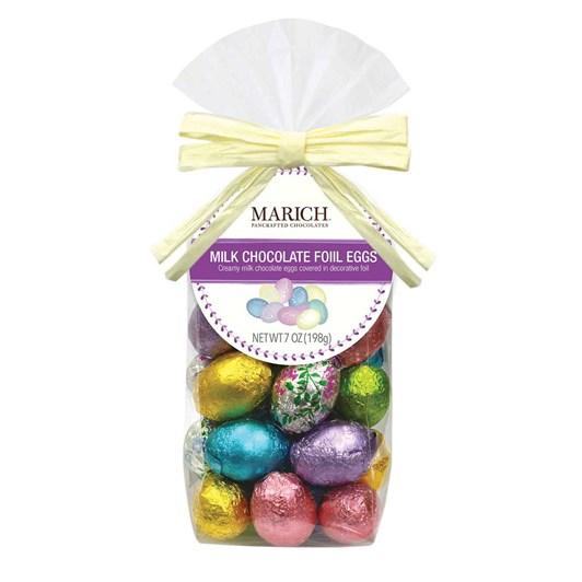 Marich Milk Chocolate Foiled Eggs 198g