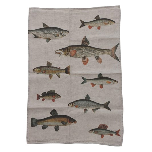 Florence By LR Tea Towel Fish-Little