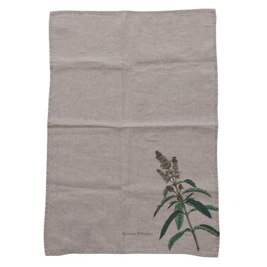 Florence By LR Linen Tea Towel- Mint