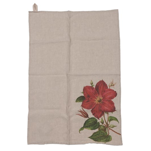 Florence By LR Tea Towel- Clematis