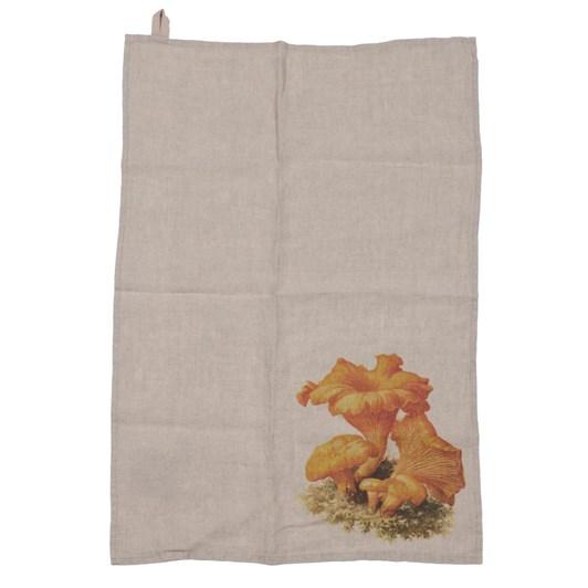 Florence By LR Tea Towel Mushroom-Chanterell