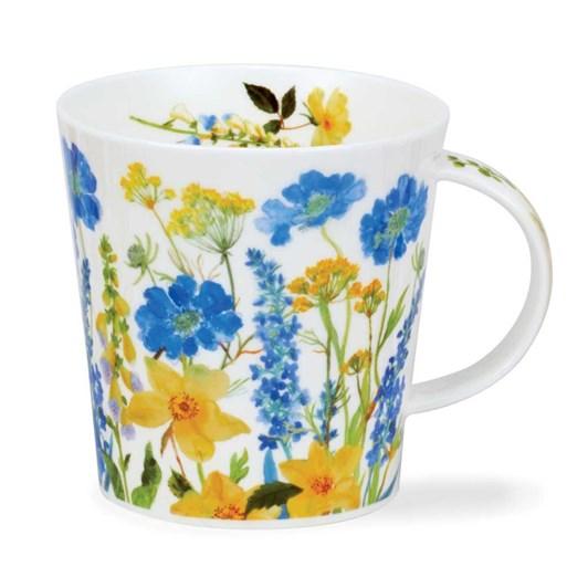 Dunoon Cairngorm Cottage Border Blue Mug