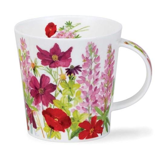 Dunoon Cairngorm Cottage Border Pink Mug