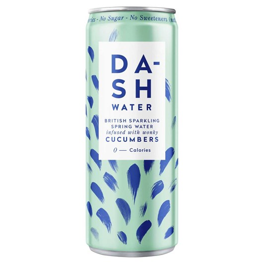 Dash Water Sparkling Cucumber 330ml Can