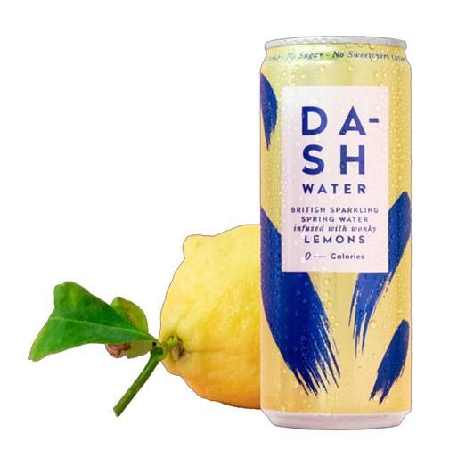 Dash Water Sparkling Lemon 330ml Can