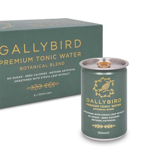Gallybird Premium Botanical Tonic Water - Fridgepack 150ml