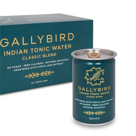 Gallybird Premium Indian Tonic Water - Fridgepack 150ml