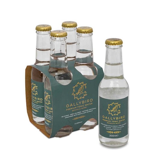 Gallybird Premium Tonic Water - Botanical Blend 4x200ml