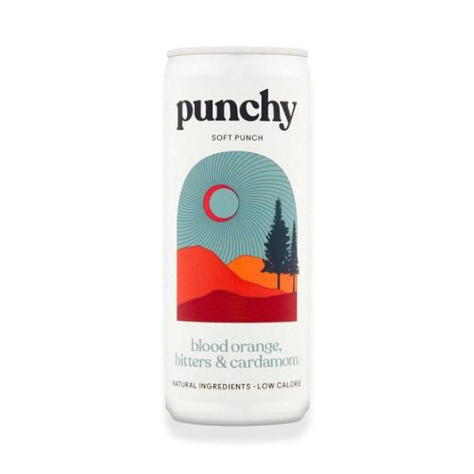 Punchy Drinks Blood Orange, Bitters & Cardamom - Na Soft Punch 250ml