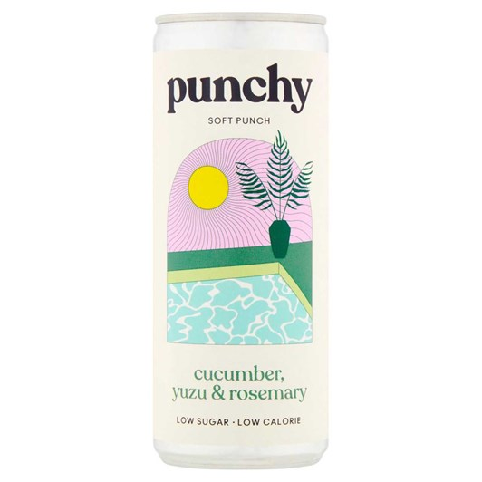Punchy Drinks Yuzu, Cucumber & Rosemary - Na Soft Punch 250ml