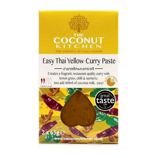 The Coconut Kitchen Easy Yellow Curry Paste  2x65g