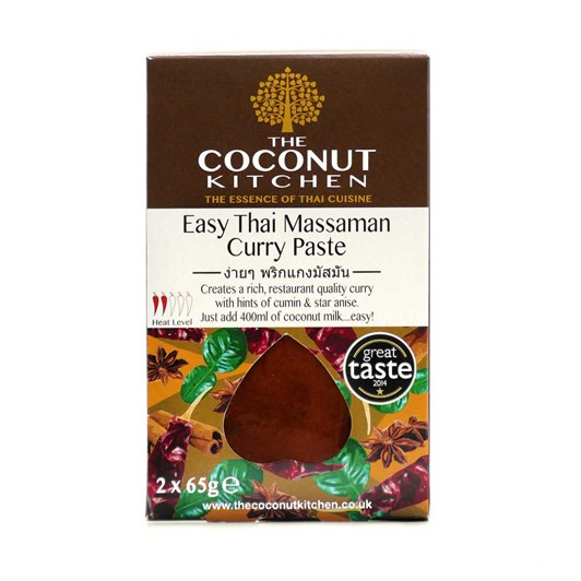 The Coconut Kitchen Easy Massaman Curry Paste 2x65g