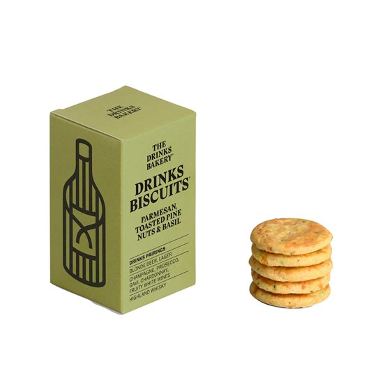 Drinks Biscuits - Parmesan Toasted Pinenut & Basil 36g