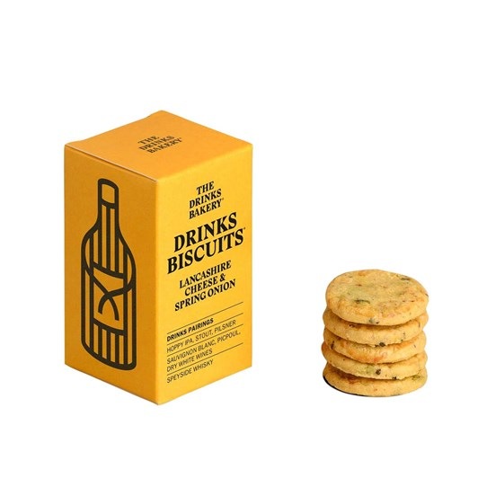 Drinks Biscuits - Lancashire Cheese & Spring Onion 36g