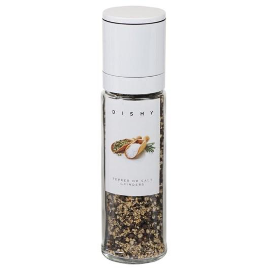 Dishy Shiro Mill Black Pepper & Garlic 20cm
