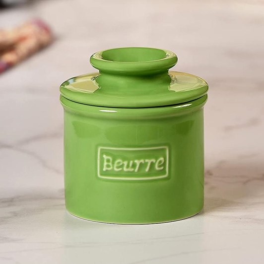 Butter Bell Cafe Lime Green