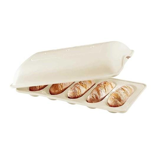 Emile Henry Mini Baguette Baker Linen