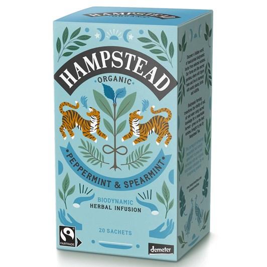 Hampstead Organic Peppermint & Spearmint - 20 Teabags