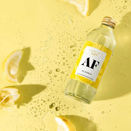 Classic AF Alcohol Free Gin & Tonic 4 x 300ml