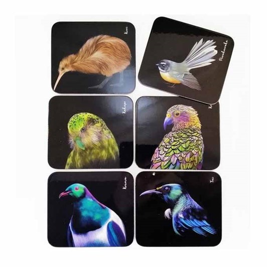 Ashdene Majestic Birds Coaster Pack Of 6
