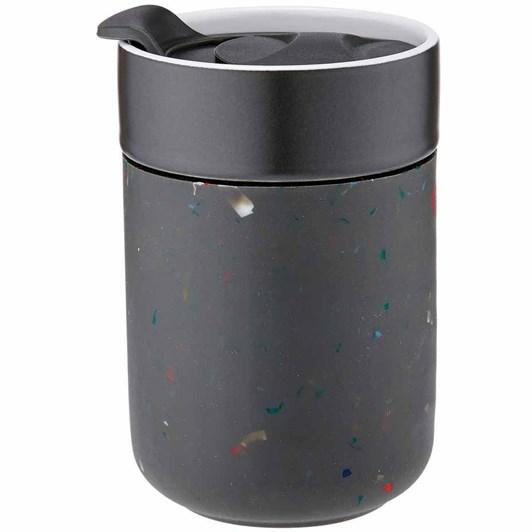 Ladelle Eco Brew Charcoal Terrazzo Travel Mug