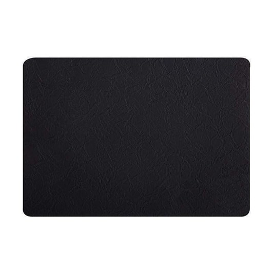 Maxwell & Williams Placemat 43x30cm Leather Look Black